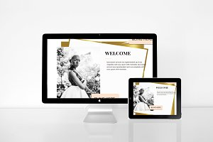 Bling Your Web- Gold Collection Divi