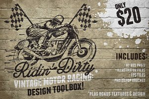 Vintage Motor Racing Design Toolbox