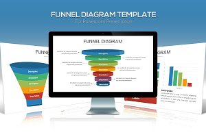 Funnel Chart Template for Powerpoint