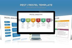 PEST / PESTEL Diagram Powerpoint