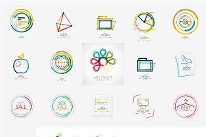 Various universal logos
