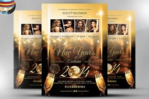 NYE Invitation / Flyer Template