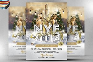 NYE Special Flyer Template