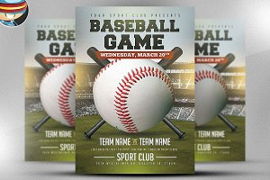Baseball Flyer Template 2