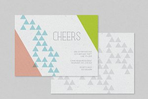 Triangle Party Invitation