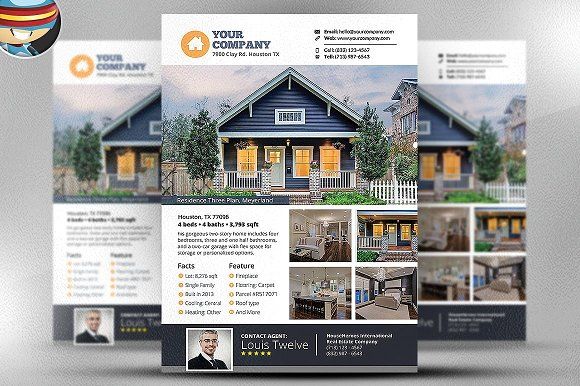Real Estate Flyer Template V3