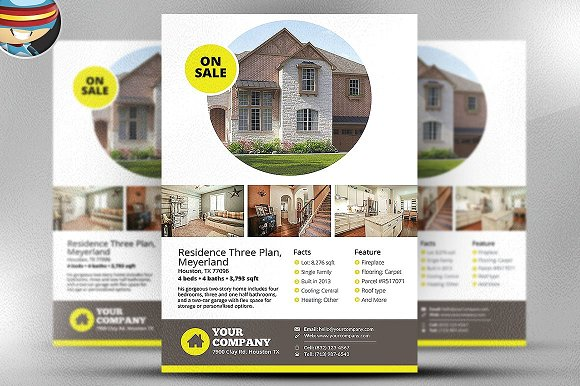 Real Estate Flyer Template V2
