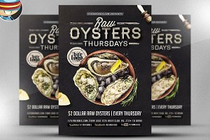 Seafood Thursday Flyer Template