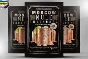 Mule Thursday Flyer Template