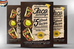 Taco Tuesdays Flyer Template V2