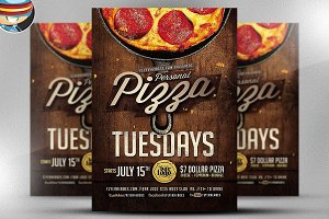 Pizza Flyer Template