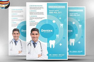Dentex Flyer Template