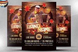 Oktoberfest Live Flyer Template