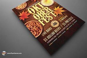 Oktoberfest Flyer Template 6