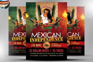 Mexican Independence Flyer Template