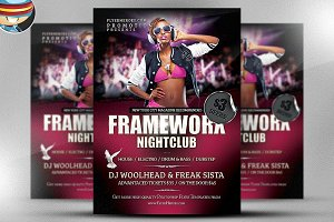 Frameworx 2 Flyer Template