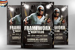 Frameworx 1 Flyer Template