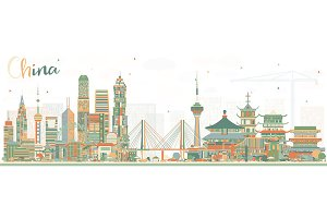 China City Skyline.