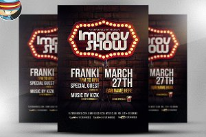 Improv Show Flyer Template