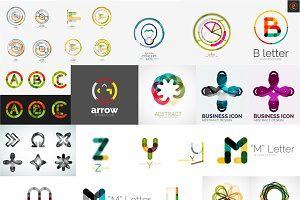 Universal company logos and icons