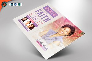 Women of Faith Flyer Template