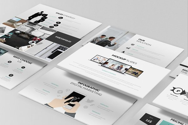 Pitch Deck Google Slides Template