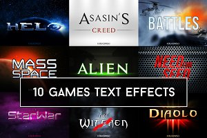 Games Text Effects