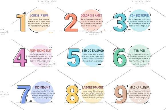 Line Numbers Steps Options Design