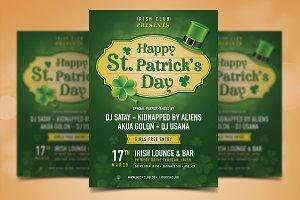 Saint Patrick Poster Template