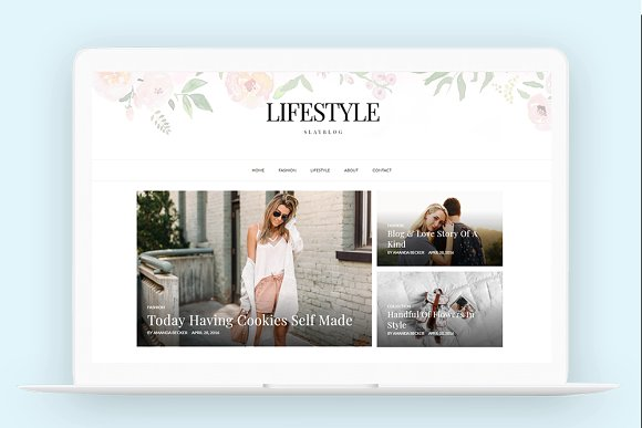 Wordpress Theme Responsive-Lifestyle