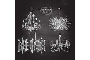 chandelier lamp lighting decor
