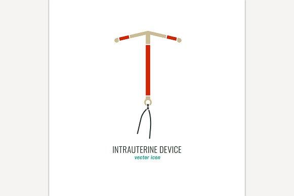 Intrauterine Device Icon