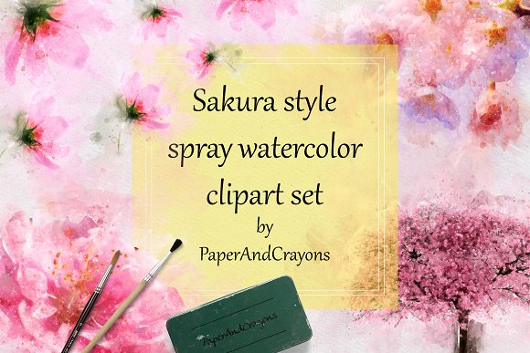 Sakura Garden Watercolor Set