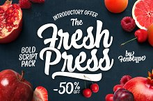 Fresh Press Intro offer -50% off!