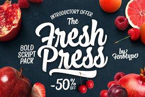 Fresh Press Intro offer -50% off!