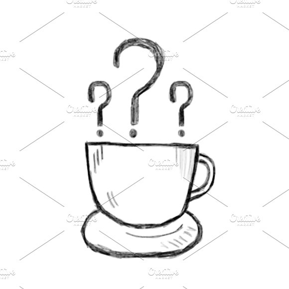 Illustration Of Hand Drawn Cup