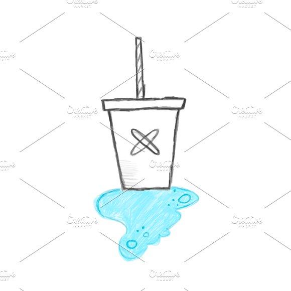 Illustration Of Cold Drink