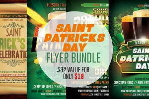 St. Patricks Flyer Bundle