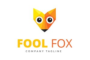 Fool Fox Logo Design