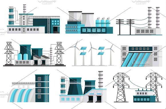 Power Generation Elements Set