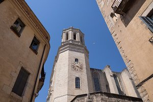 Historical center of Girona town, Ca
