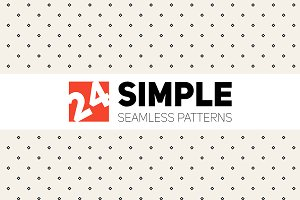 Simple Seamless Patterns. Set 1