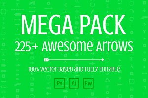 Mega Pack of Awesome Arrows