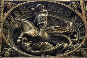 Saint George and the dragoon