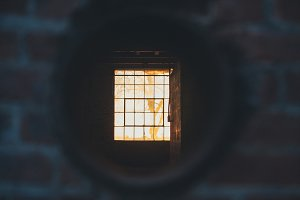 Window Through a Pipe
