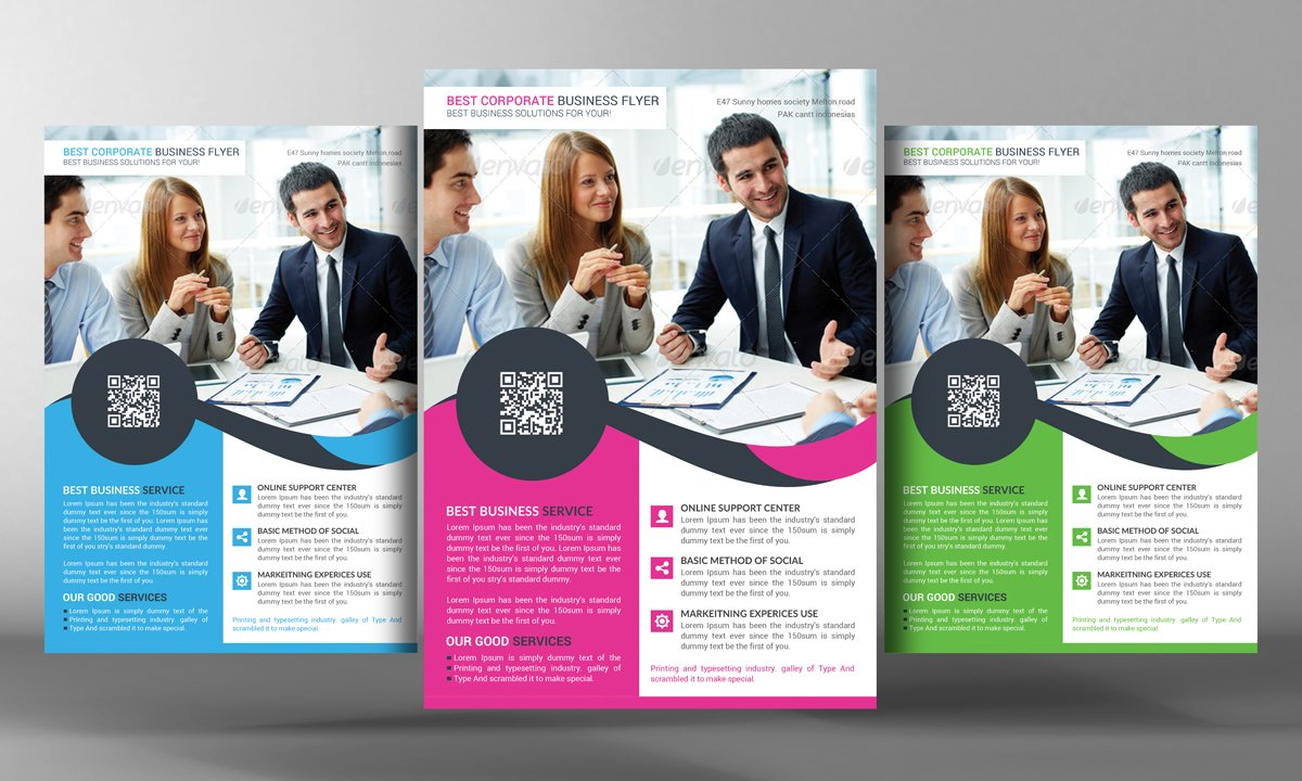Best Corporate Business Flyer Templates Creative Market