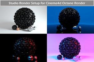 Octane Render Studio Setup for C4D