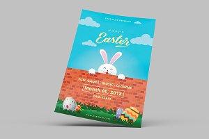 Easter Invitation Flyer-V774