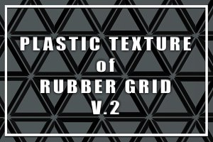 Plastic Texture of Rubber Grid Vol.2