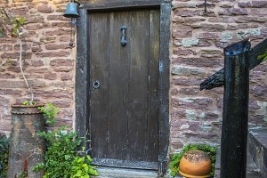 Wooden Door to Old Granary